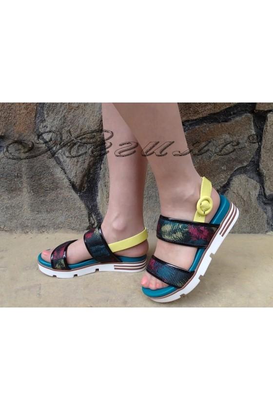 Ladies sandals 1720-146 black