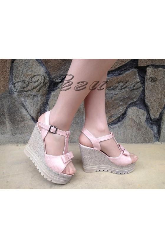 Lady sandals 183 rose pu