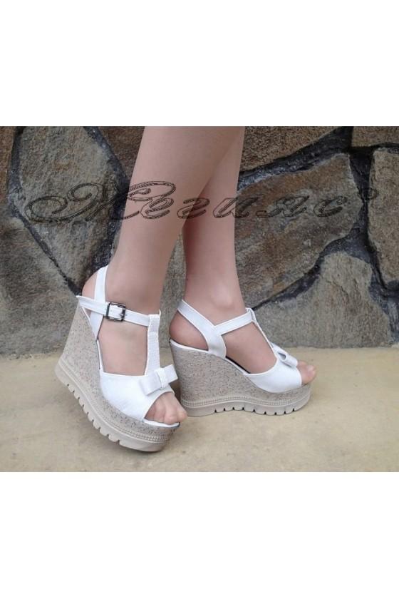 Lady sandals 183 white pu