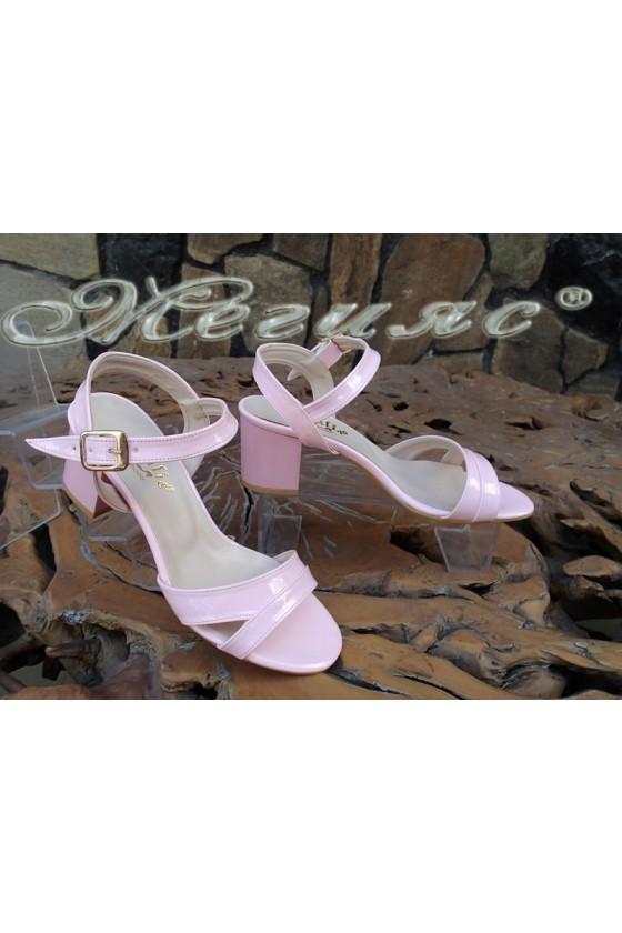 Lady sandals 090 pink patent