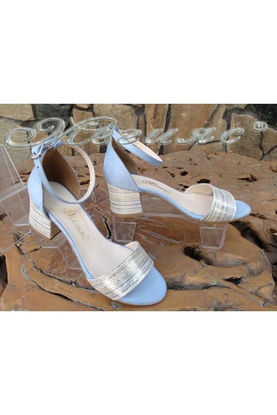 Lady sandals 869 lt.blue pu