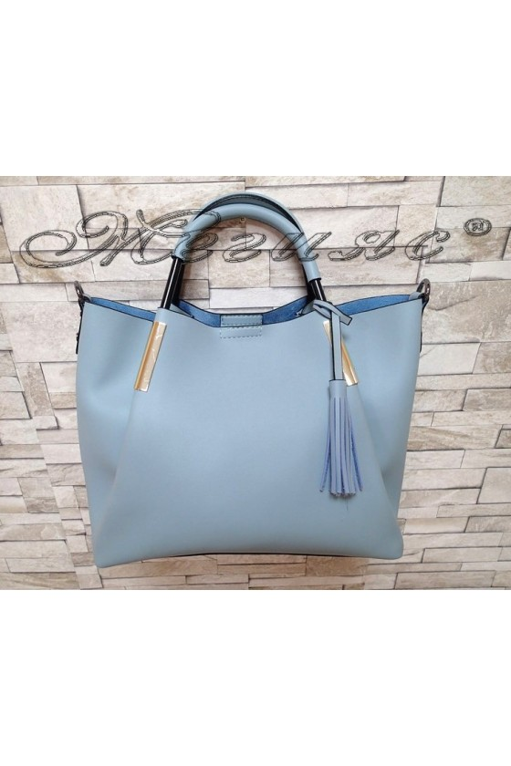 Lady bag 1137-0132 light blue pu