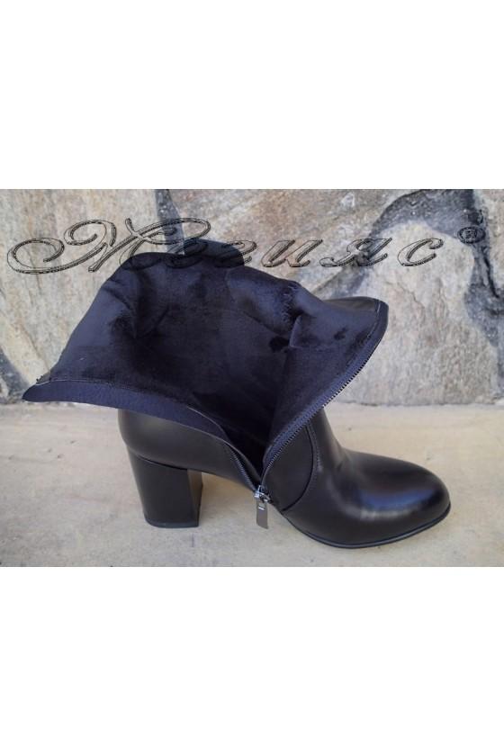 Women boots Christine 20w18-321 black pu