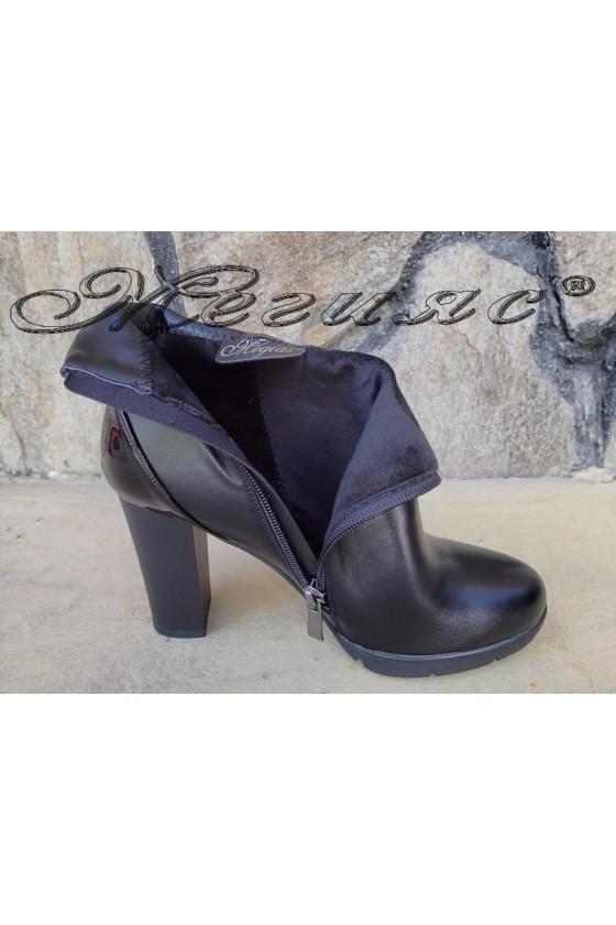 Women boots Christine 20w18-324 black pu