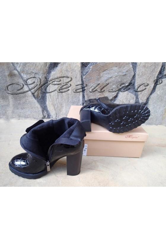 Lady boots Christine 20w18-346 black pu