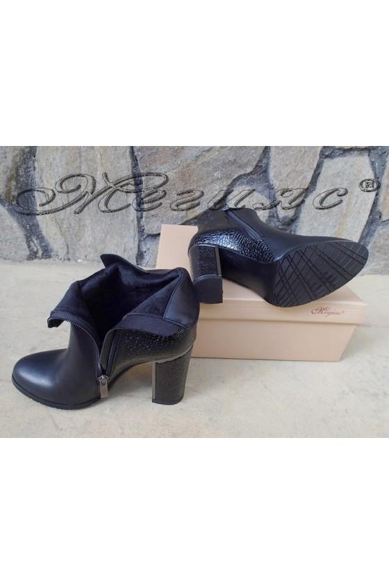 Lady boots Christine 20w18-313 black pu