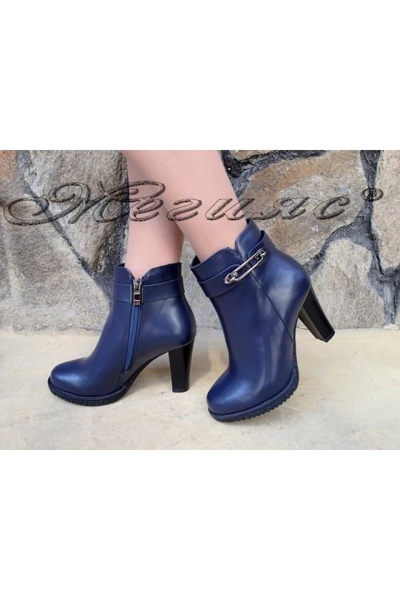 Lady boots Christine 20W18-305 blue pu