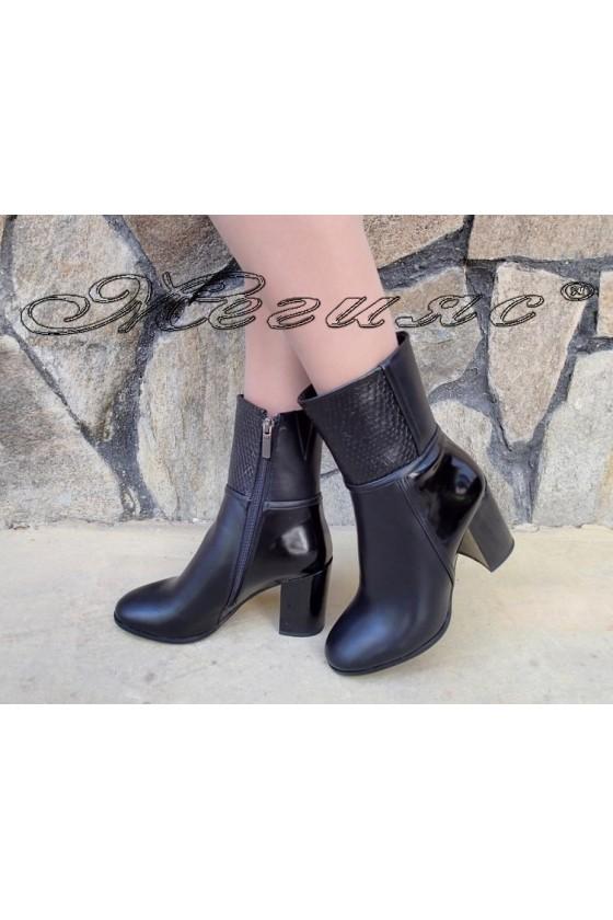 Lady boots Christine 20W18-337 black pu