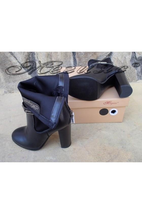Lady boots Christine 20W18-339 black pu