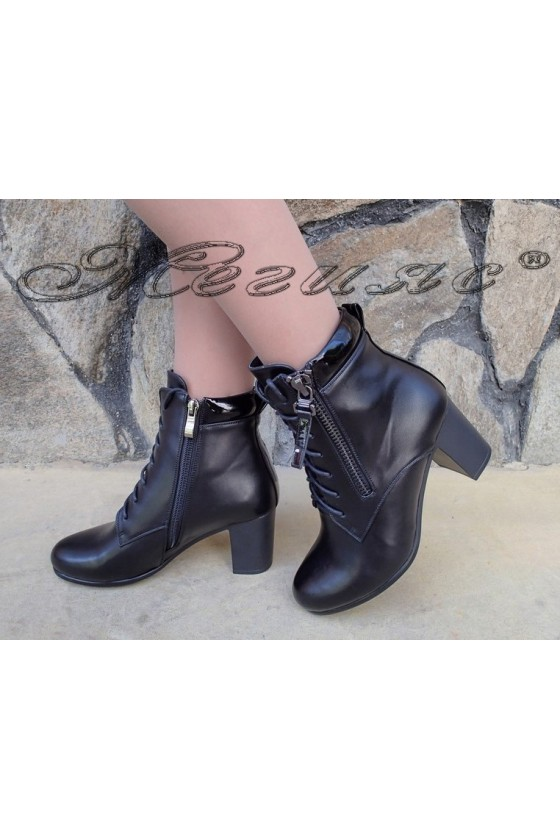 Lady boots Christine 20W18-322 black pu