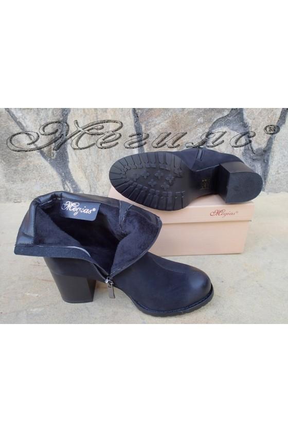 Lady boots Carol W18-2071 black suede