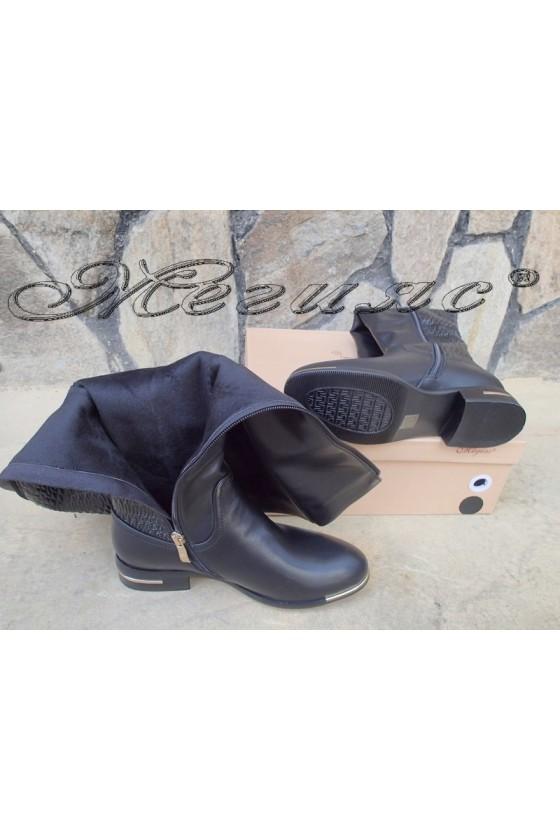 Lady boots Carol 20W18-2044 black pu