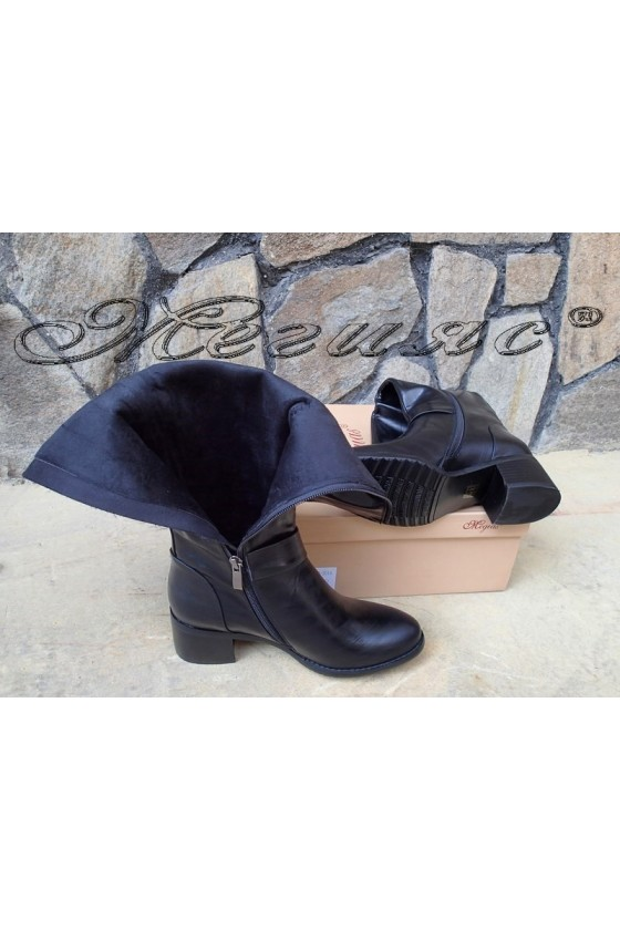 Lady boots Carol 20W18-2014 black pu