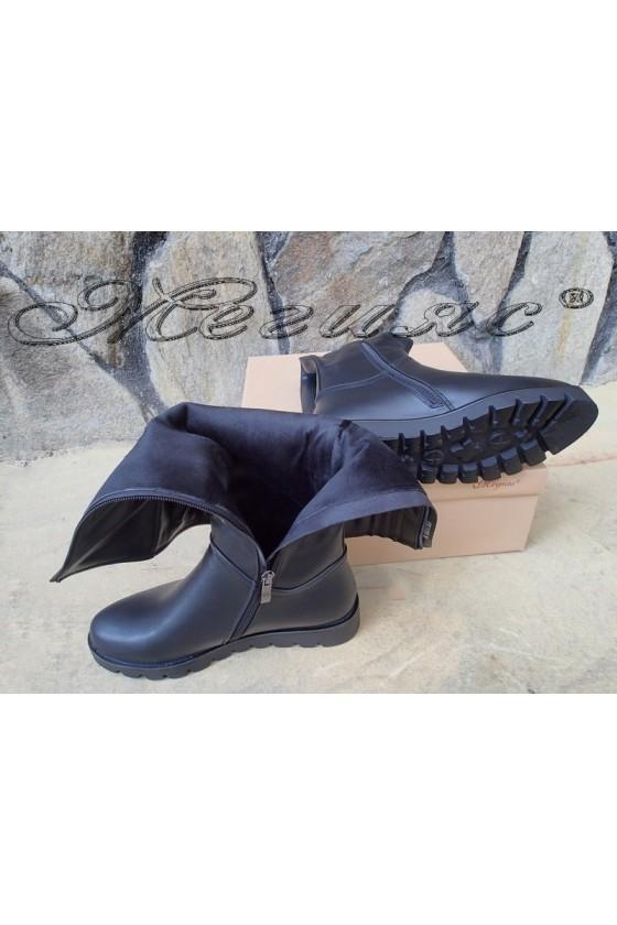 Lady boots Carol 20W18-2015 black pu