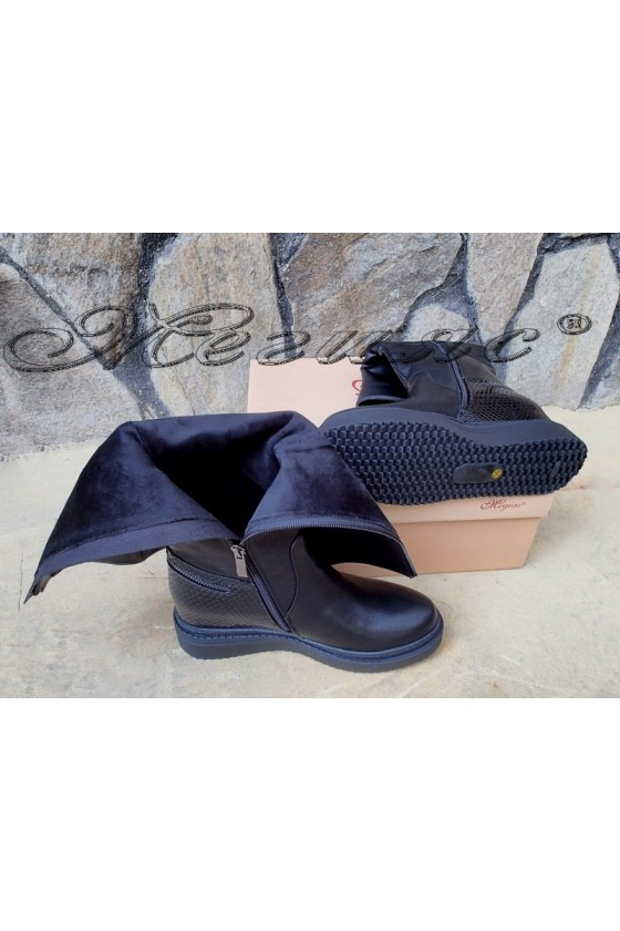 Lady boots Carol 20W18-2017 black pu