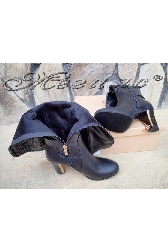 Lady boots Carol 20W18-2006 black pu