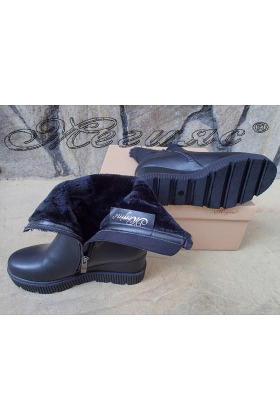 Lady boots Carol 20W18-2188 black pu