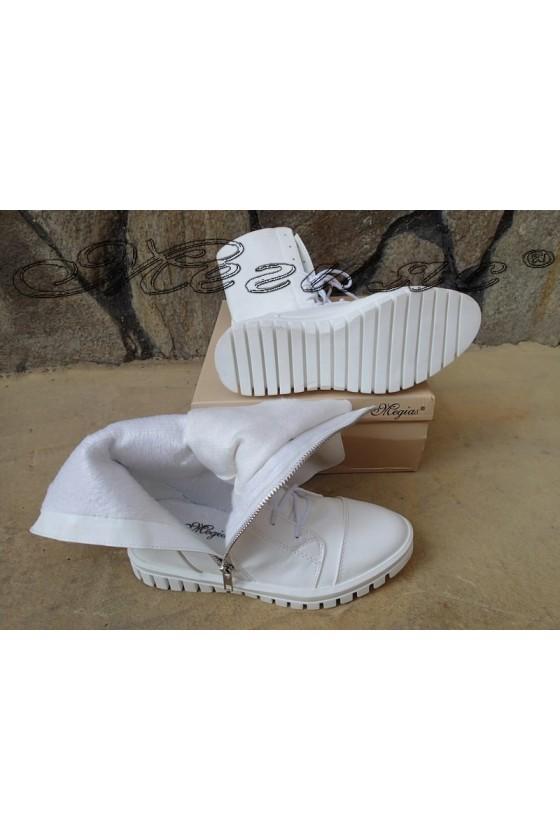 Women sport boots Annette 20w18-306 white pu