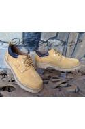 Мъжки обувки САТ 10 жълти от естествен набук