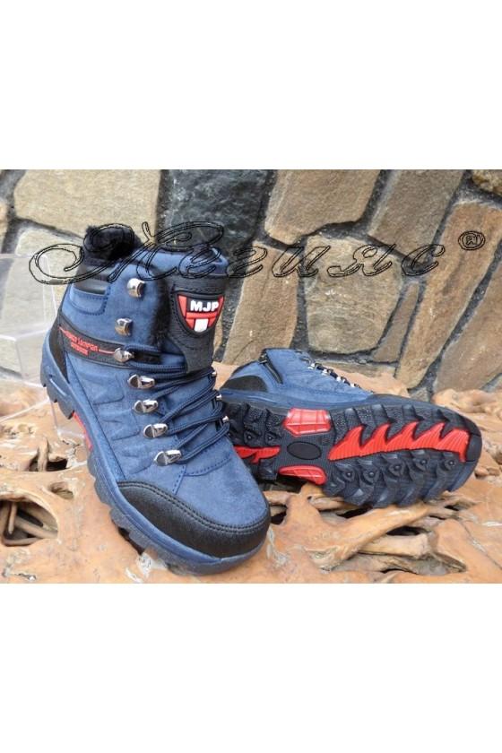 Men's boots 1557 blue pu