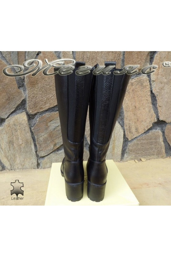 Women boots 50/300 black leather