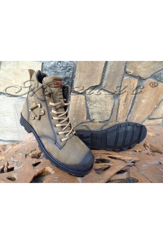 Men's boots 702 khaki pu