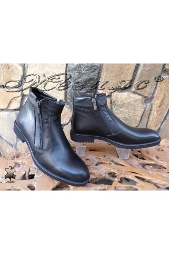 Men's boots 14700 black leather