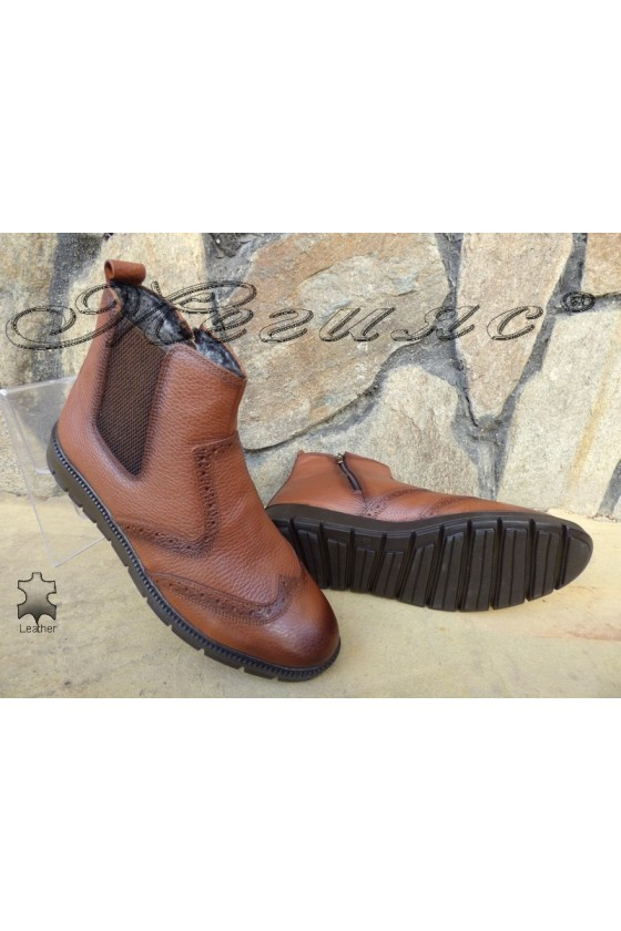 Men's boots 799 taba leather