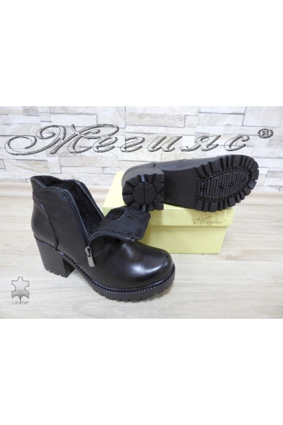 Lady boots 791 black leather