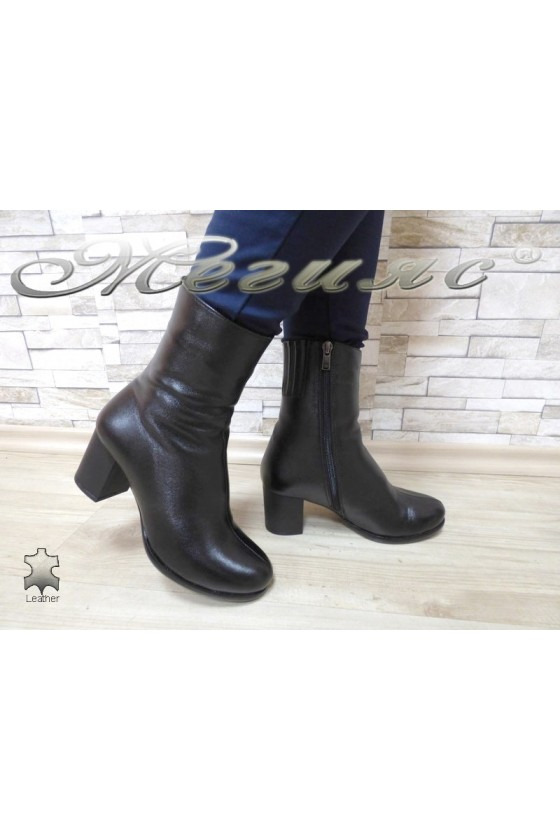 Lady boots 5426 black leather