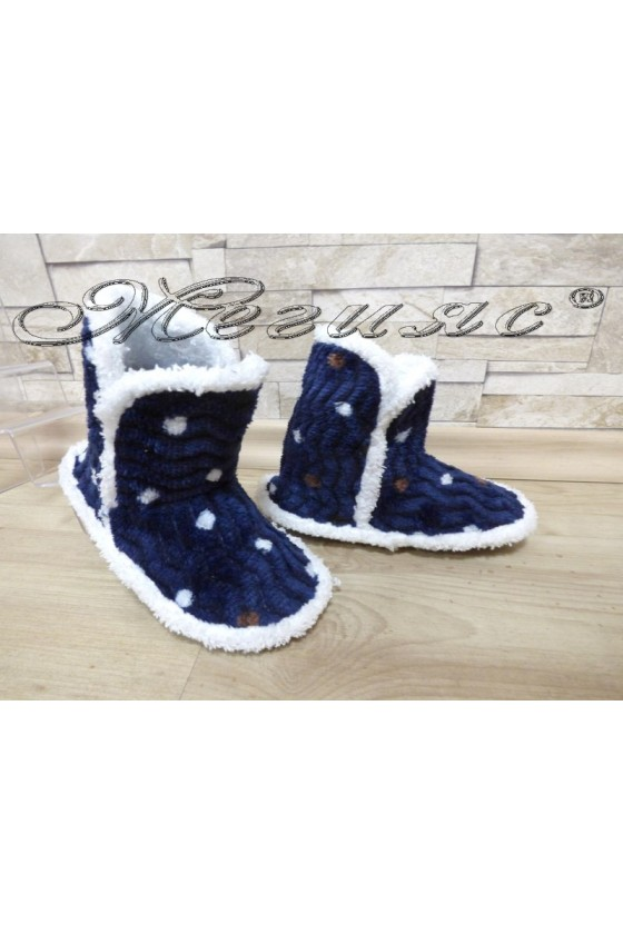 Children's slippers 99 dark blue