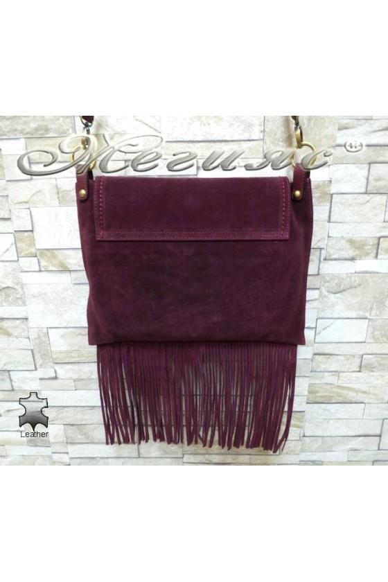 Lady bag 4800 wine leather