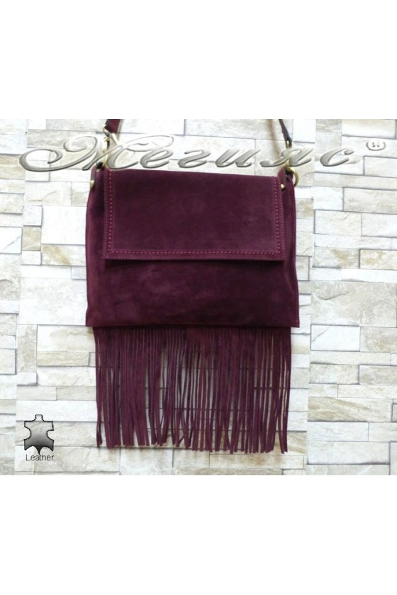 Lady bag 4800 wine leather