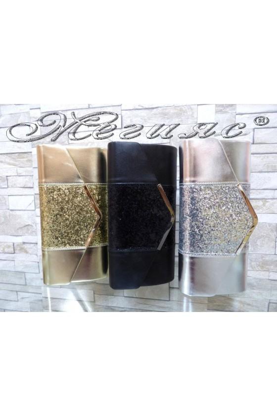 Абитуриентска чанта JENNIFER 18s20-68 еко кожа с брокат