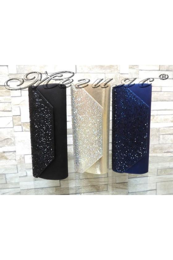 Абитуриентска чанта JENNIFER 18s20-58 текстил с декорация камъни