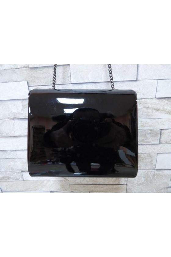 Абитуриентска чанта JENNIFER 18s20-134 черен лак