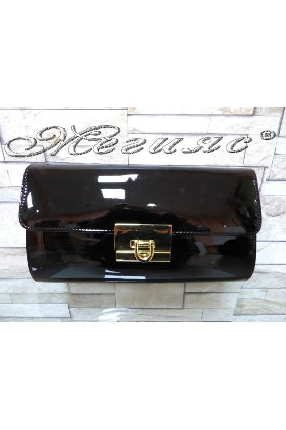 Абитуриентска чанта JENNIFER 18s20-123 черен лак