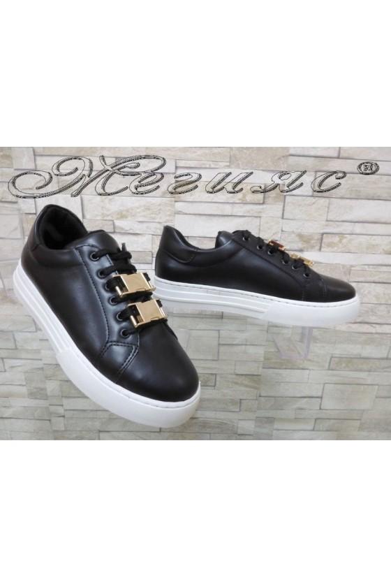 Дамски спортни обувки 5678-150 от еко кожа