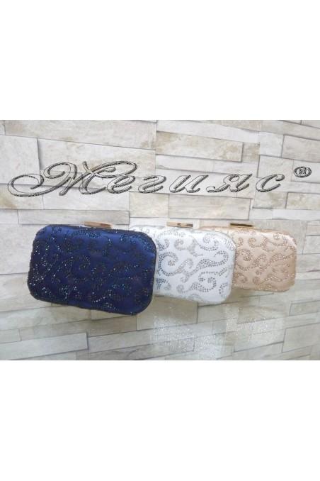 Абитуриентска чанта JENNIFER 18s20-50 текстил с декорация камъни