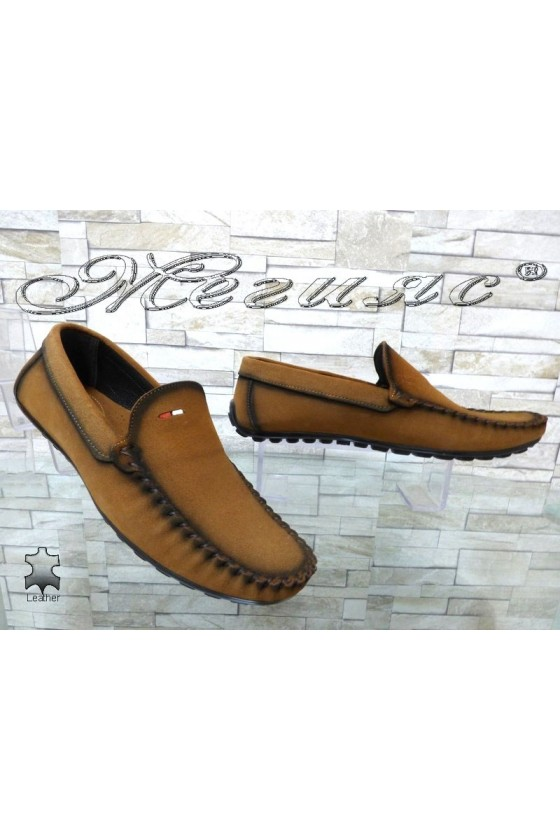 Men's shoes 02/2018 brown leather