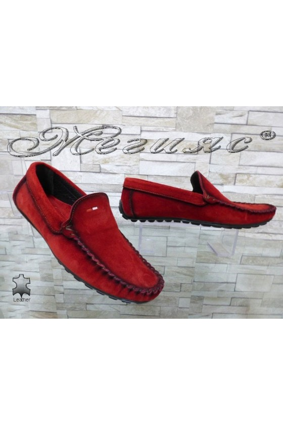 Men's shoes 02/2018 red leather