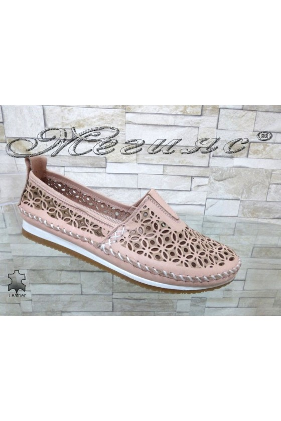 Women shoes 67 nude leather