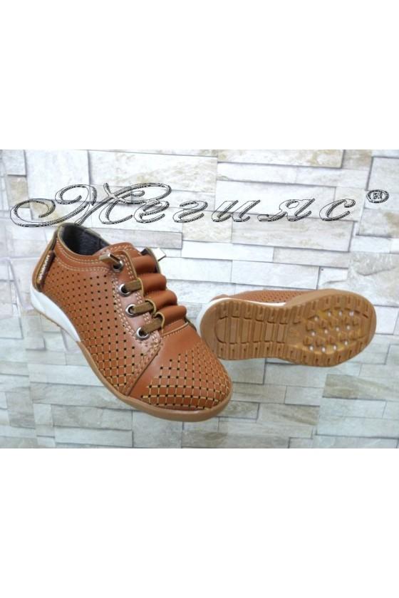 Детски обувки таба от еко кожа ежедневни 00219