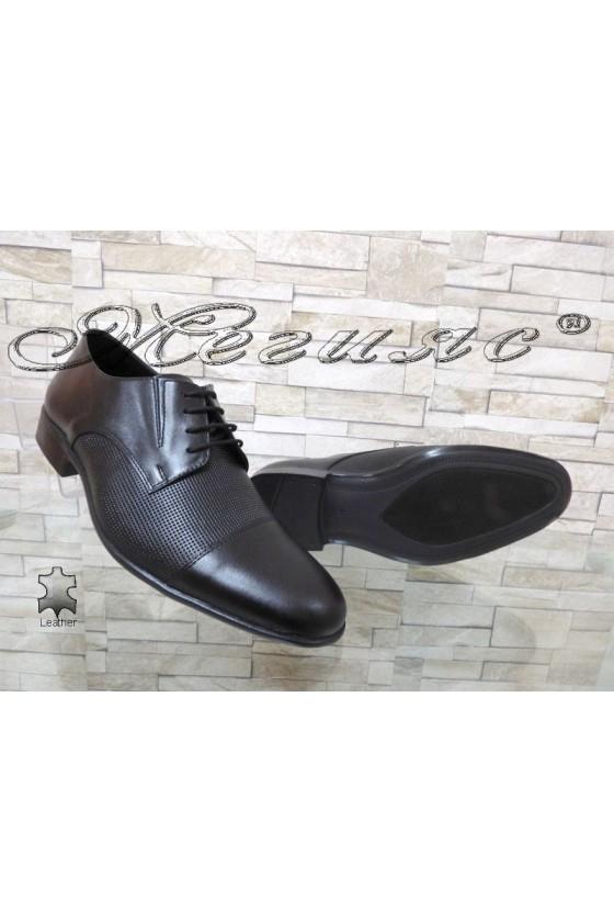 Men shoes FANTAZIA 309-603 black leather
