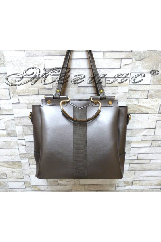 Lady bag 313 dk.grey pu