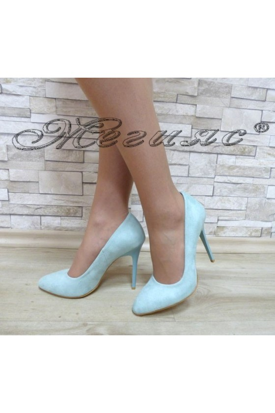 Lady elegant shoes 162  suede with high heel