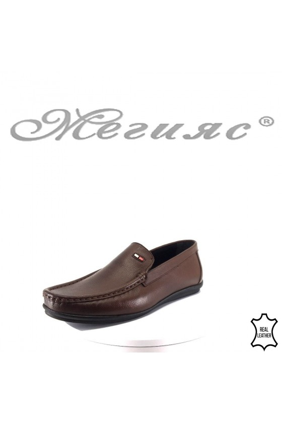 Men's shoes 181brown leather