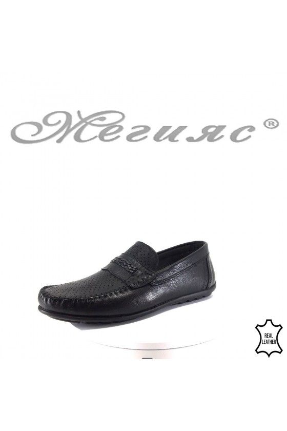 Men's shoes 175 black leather