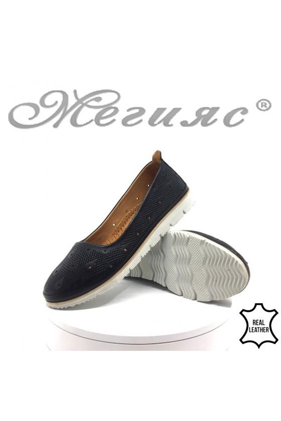 Ladies shoes  02-М/32 black leather