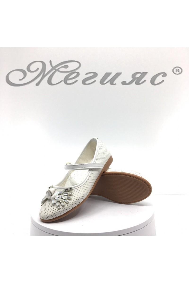 Children's shoes 00222 white pu